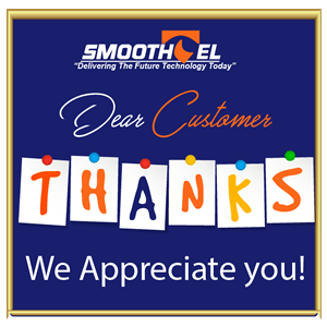 Smoothtel thanks customers