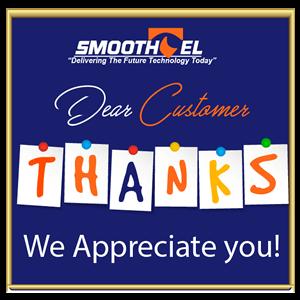 Smoothtel thanks customers