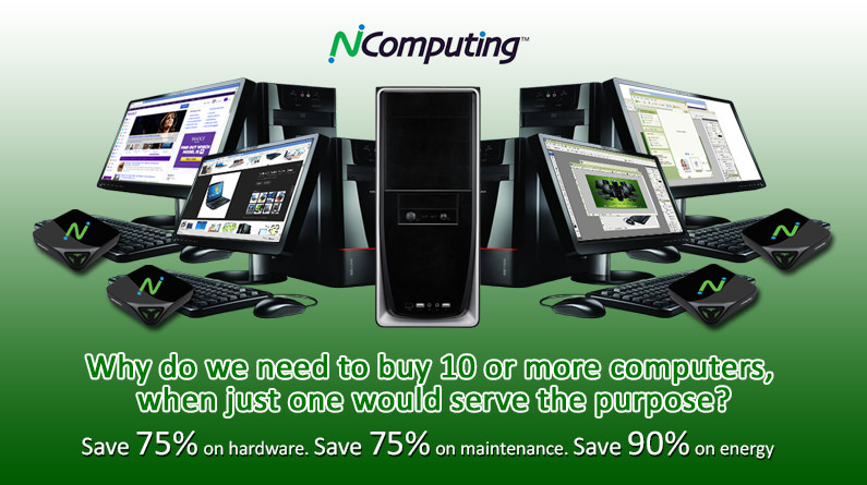 Kenyans are Now using Ncomputing for PC's