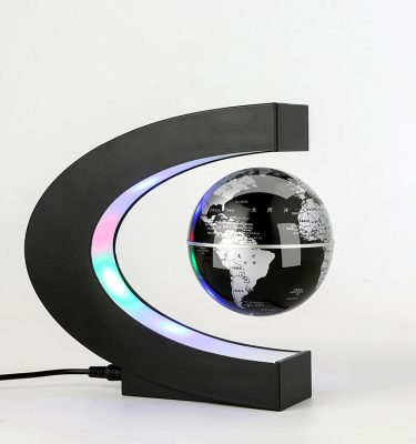 Magnetic levitation floating globe.