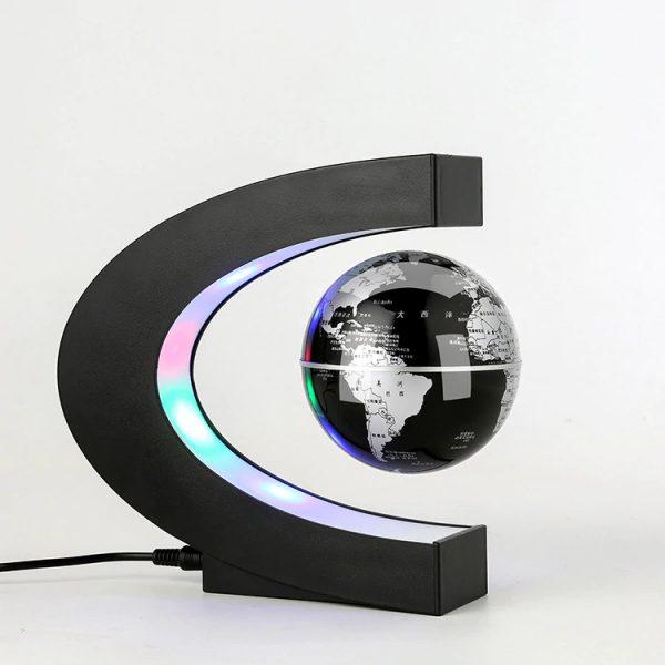 Magnetic levitation floating globe.
