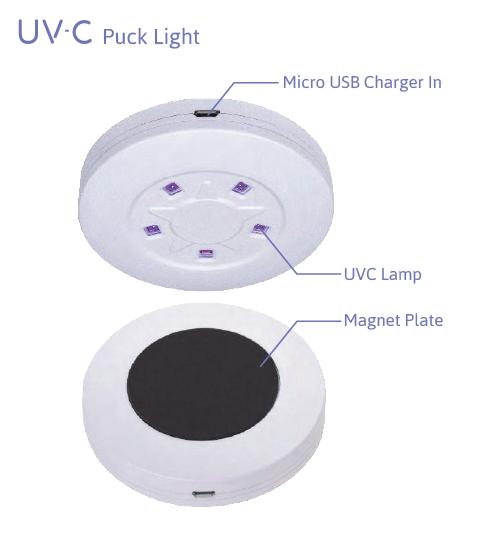 UVC puck light 2