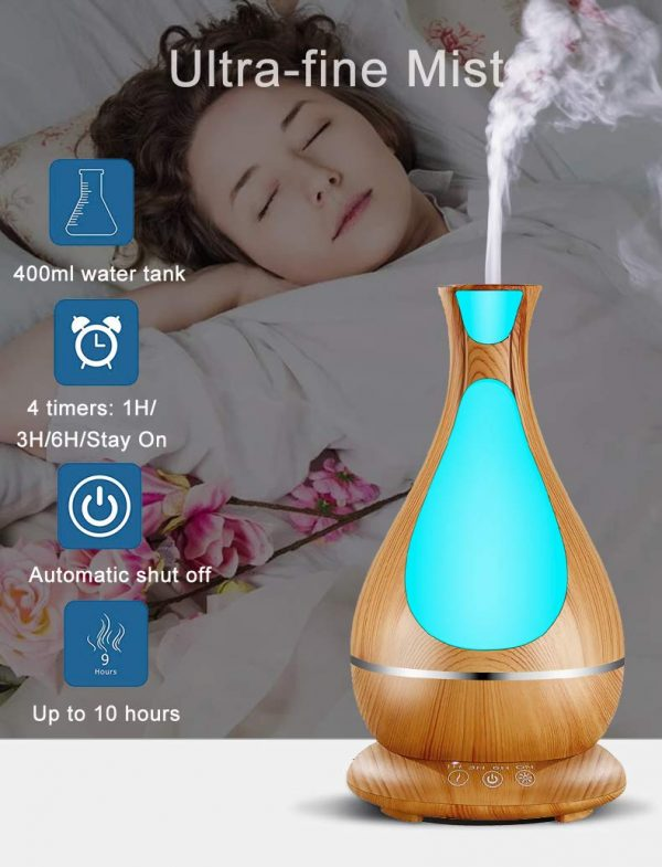 400ml Aromatherapy Oil Diffuser