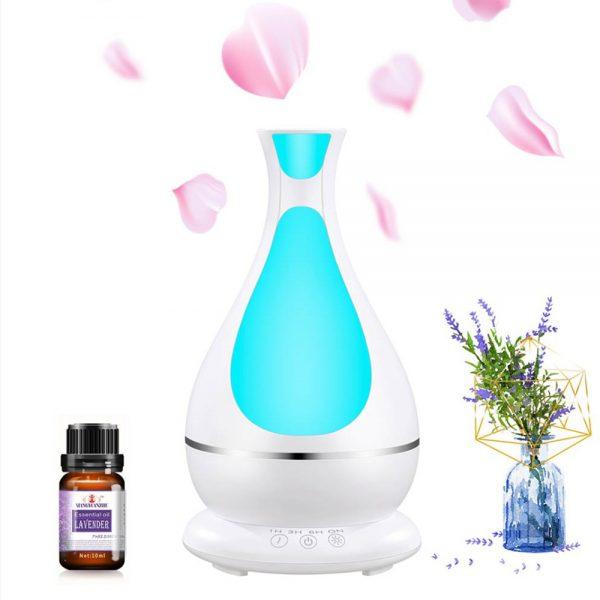 400ml Aromatherapy Oil Diffuser white