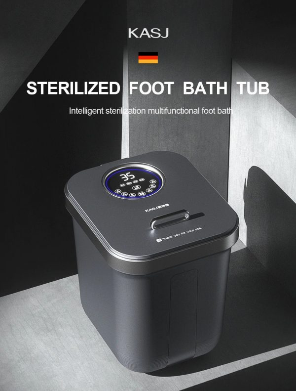 Electric Foot Spa Bath Massager