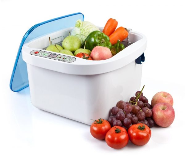 Ultrasonic Ozone Vegetable and Fruit Cleaner Sterilizer Washer (12.8L)